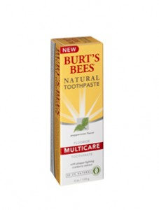 Burt's Bees natural beauty products
