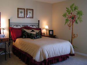 Liven up Bedroom Walls