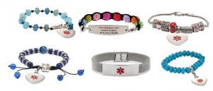 Fashionable Medical ID Bracelets