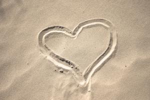 sand-heart