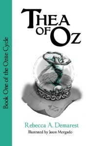 thea of oz book cover