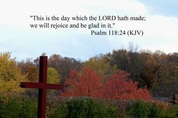 WE WILL REJOICE AND BE GLAD!